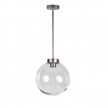 Lámpara de techo esfera cristal modelo Veteris Plata vieja