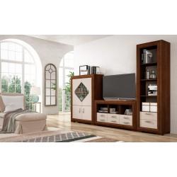 Conjunto muebles de salón modelo Hispania