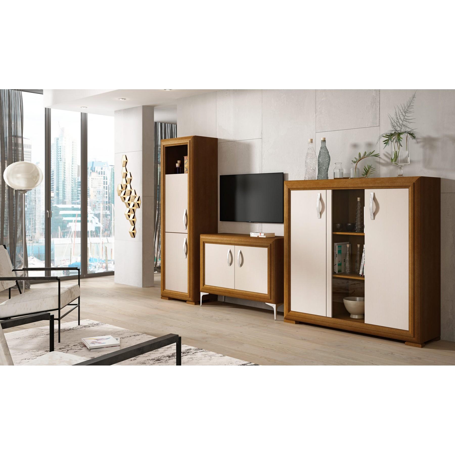 Conjunto muebles de sal n modelo baetica for Conjunto muebles salon