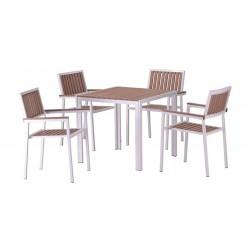 Conjunto mesas y sillas jardín 2/4/6 Solymar
