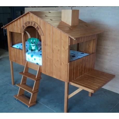 Cama infantil modelo Cabaña