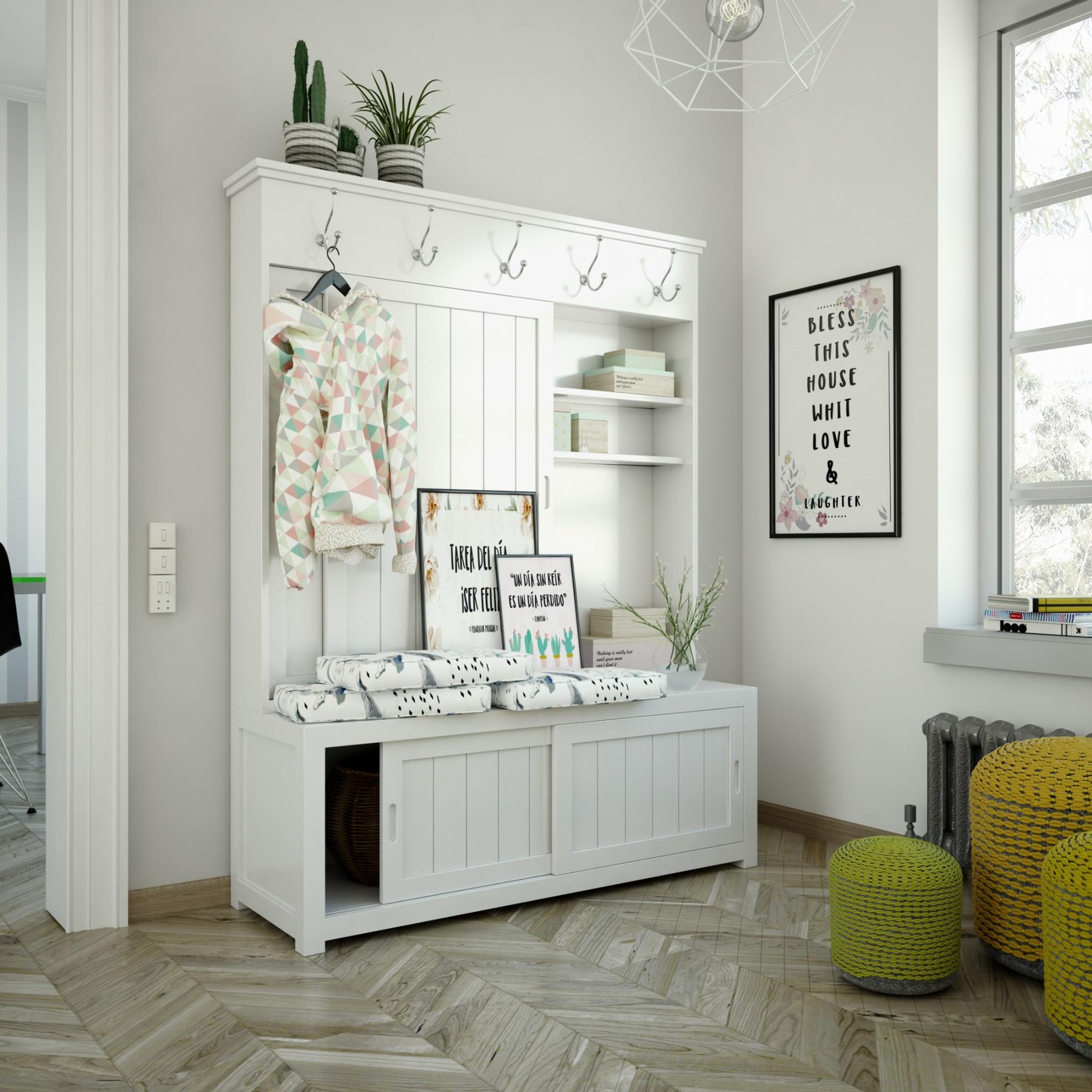 Muebles Percheros Para Recibidores Awesome Stunning Descripcin