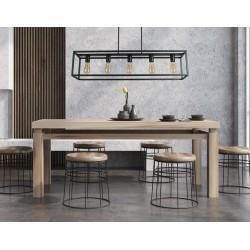 Lámpara de techo diseño industrial modelo Ahumahi