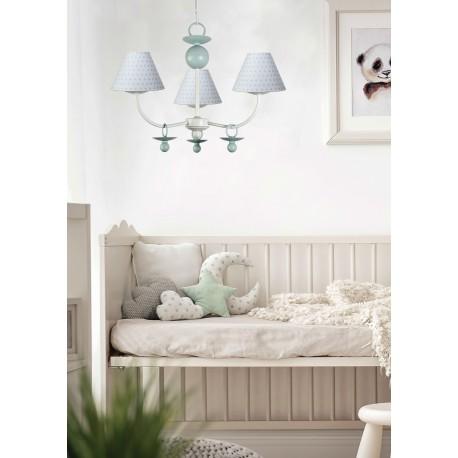 Lámpara de techo infantil colección Lunares modelo Pieni