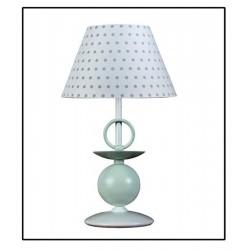 Lámpara de sobremesa infantil colección lunares modelo Liten Mint