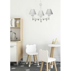 Lámpara de techo infantil 3 luces modelo Mol