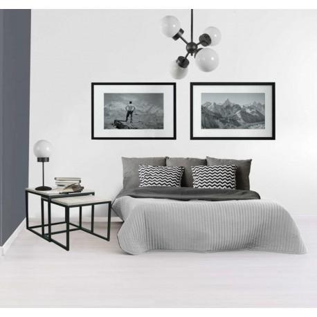 Mesa para rincón estilo industrial y vintage modelo Prodhon