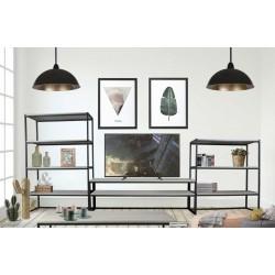 Mesa de televisión diseño industrial modelo Ise