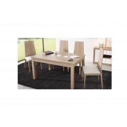 Conjunto Mesa extensible y sillas de comedor modelo Sada