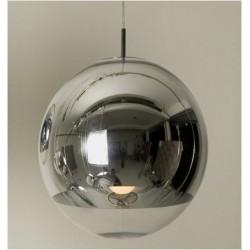Oferta lámpara colgante cristal modelo cromo 40x40