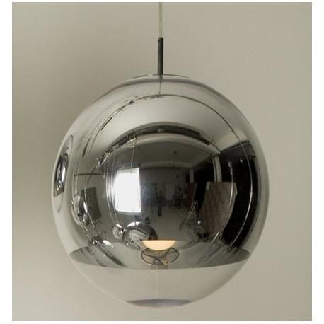 Oferta lámpara colgante cristal modelo cromo