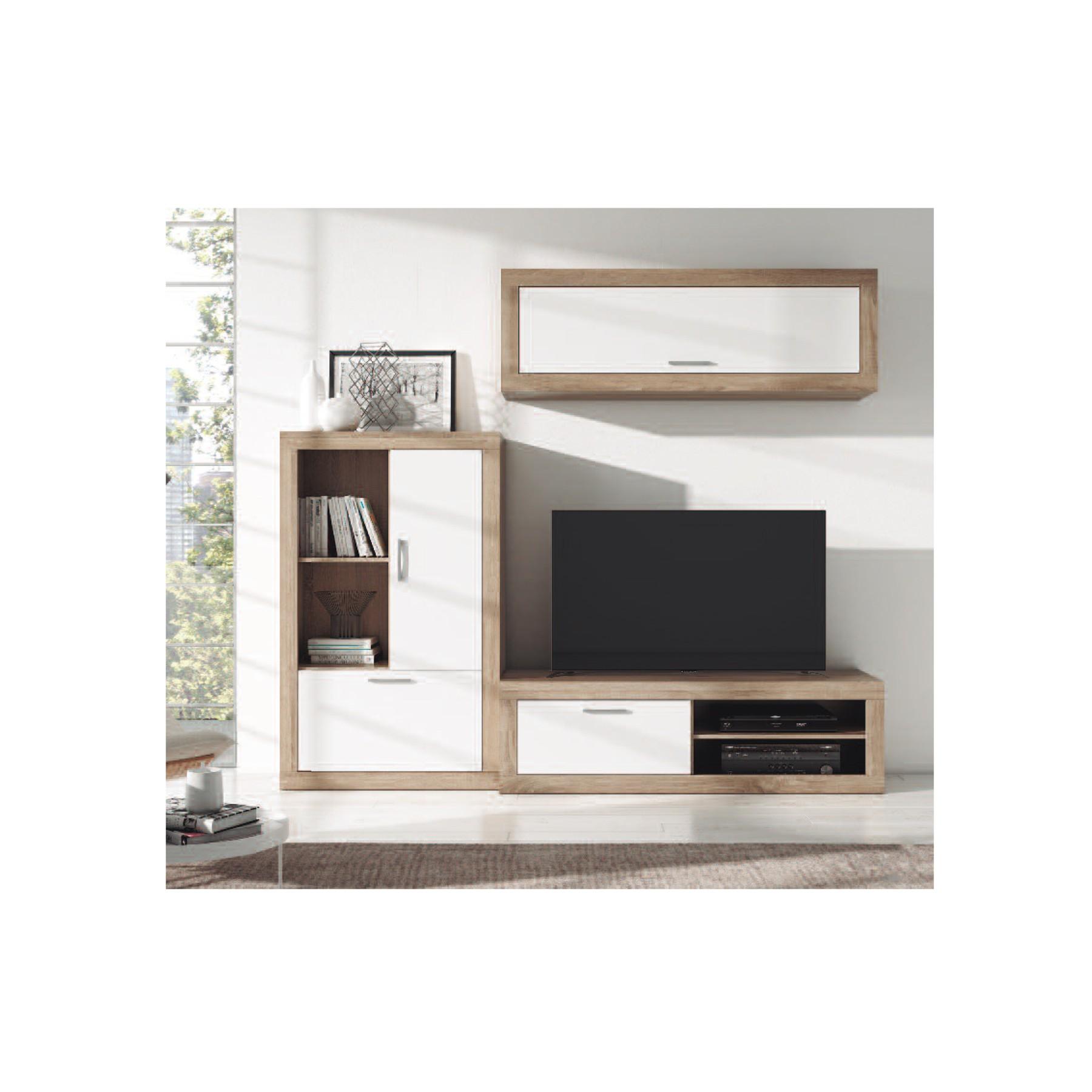 Mueble bajo tv modelo padua for Mueble auxiliar tv
