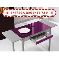 ¡¡Entrega Express!! Mesa de cocina extensible Modelo A 100x60