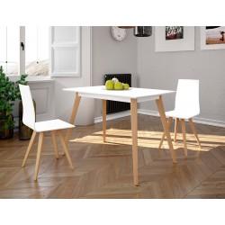 Conjunto mesa y sillas de cocina madera Modelo Ostia