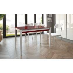 Conjunto mesa de cocina extensible y sillas modelo Trevi