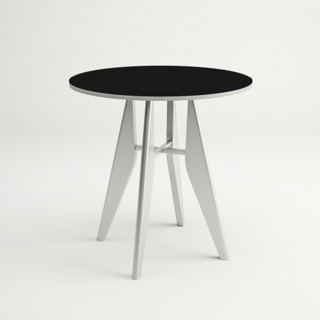Mesa de cocina fija redonda modelo Julia