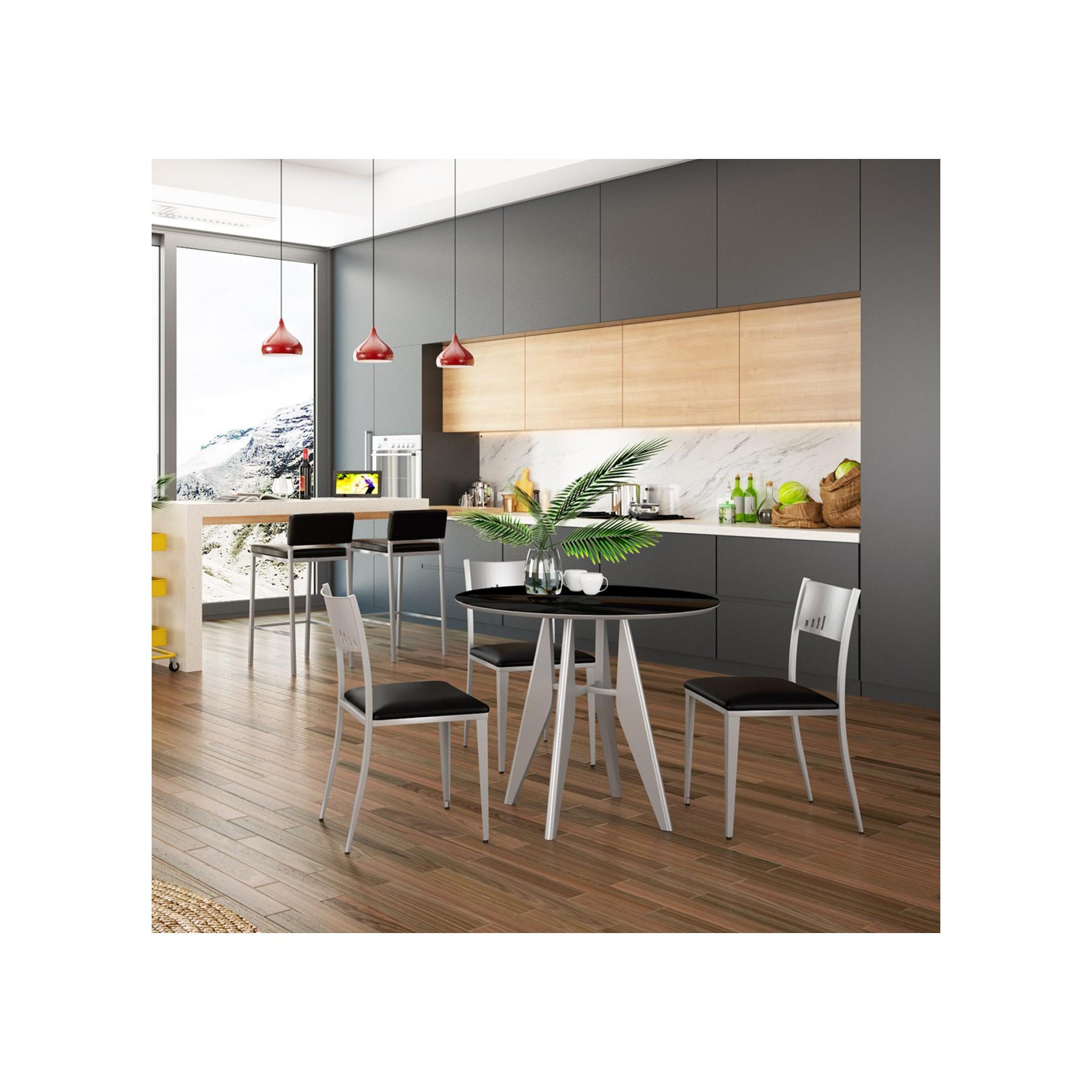Conjunto mesa de cocina diseño y sillas de cocina modelo Nomentano
