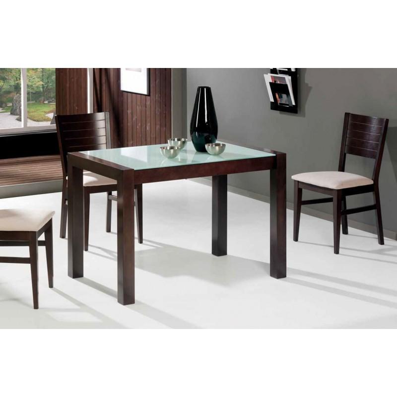Conjunto de mesa y 4 sillas de cocina en madera modelo - Sillas de cocina diseno ...