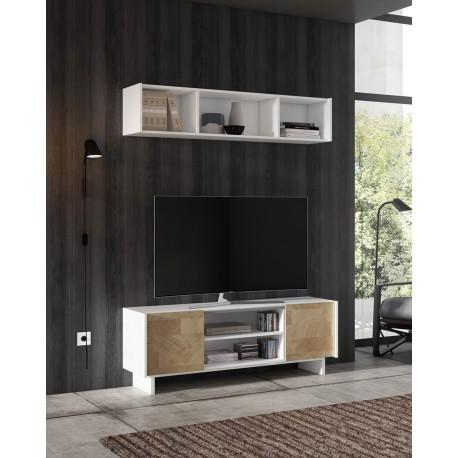 Mueble TV y vitrina modelo Urceo