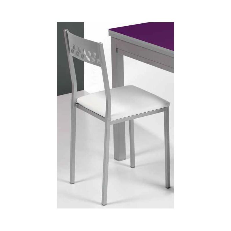 Conjunto de mesa plegable y sillas de cocina modelo ciruela for Sillas de cocina plegables