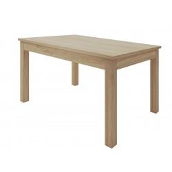 Mesa de comedor extensible en madera Cambrian