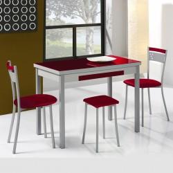 Oferta Mesa de cocina extensible 100x60 alas laterales