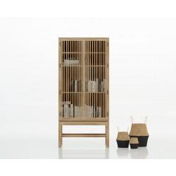 Alacena de diseño en madera de Fresno Serie Jungle
