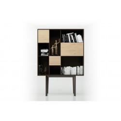 Consola bufet aparador de diseño con cajones y puertas serie Dahlia