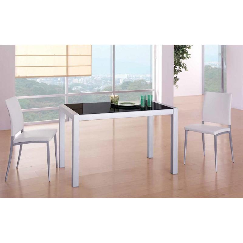 Conjunto de mesa y sillas de cocina modelo mora for Mesas extensibles y sillas de cocina