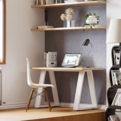 Mesa de escritorio piramide teletrabajo homeoffice