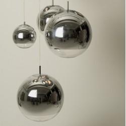 Lámpara de techo cromada modelo Cromo