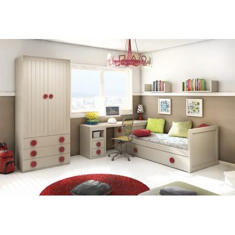 Dormitorio juvenil modelo Enjoy