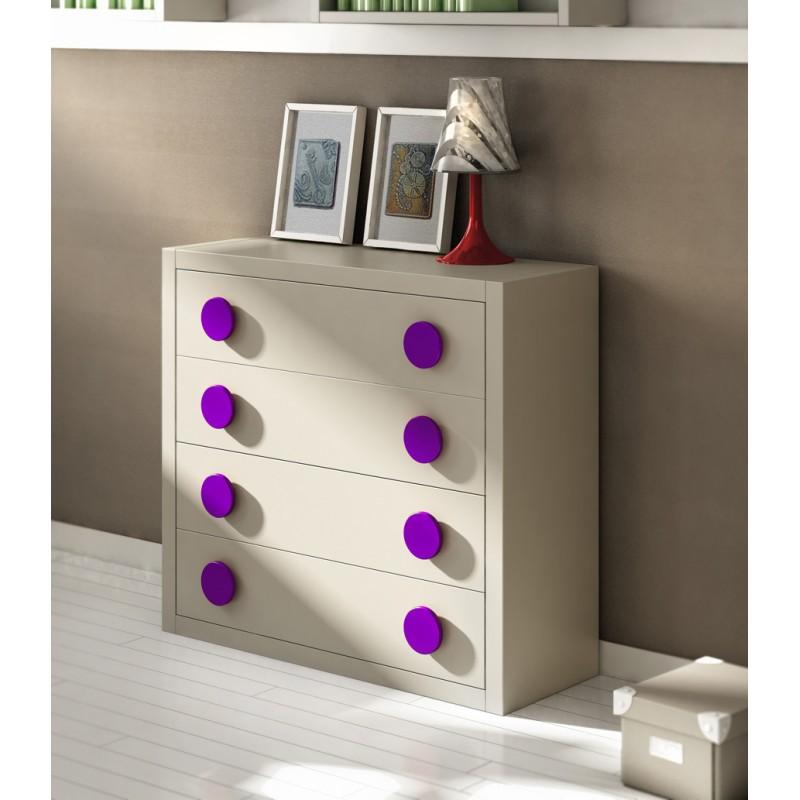 C moda juvenil modelo enjoy para dormitorio juvenil - Comoda habitacion ...