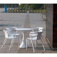 Mesa para terraza modelo Bahía