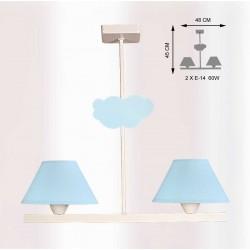 Lámpara infantil de techo modelo Baby T2
