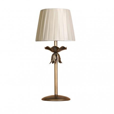 Lámpara sobremesa modelo Min - Acabado en bronce