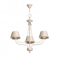 Lámpara de techo clásica modelo Min de 3 pantallas