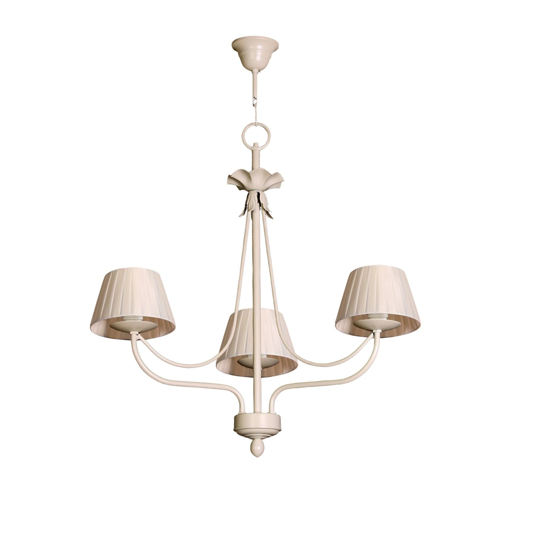 L mpara de techo cl sica modelo min de tres l mparas for Modelos de lamparas
