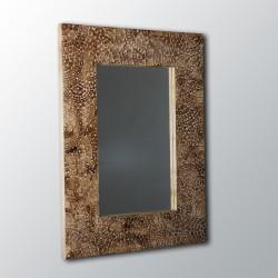 Espejo artesanal de pared hecho a mano modelo GOBI