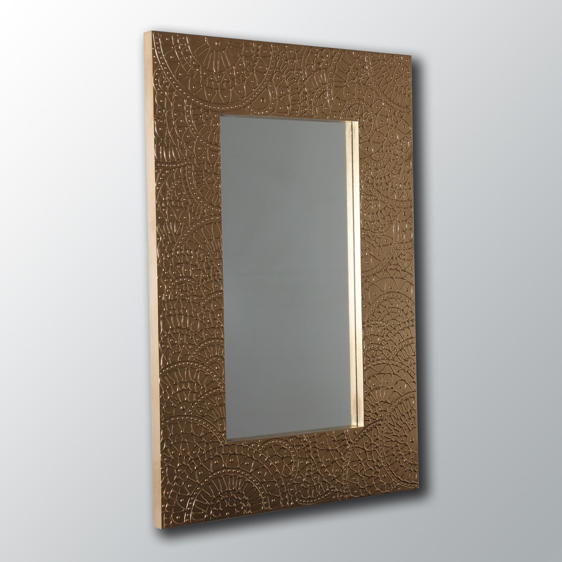 Espejo artesanal de pared hecho a mano modelo sahara for Modelos de espejos decorativos