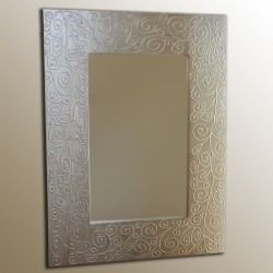 Espejo artesanal de pared hecho a mano modelo ATACAMA