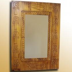 Espejo artesanal de pared hecho a mano modelo SINAI