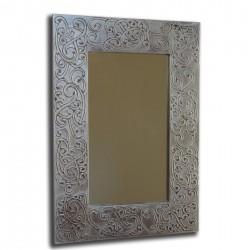Espejo artesanal de pared hecho a mano modelo NUBIA