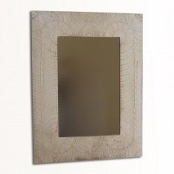 Espejo artesanal de pared hecho a mano modelo MONTE