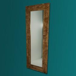 Espejo alto artesanal de suelo hecho a mano modelo INDO