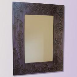 Espejo artesanal de pared hecho a mano modelo NAMIB