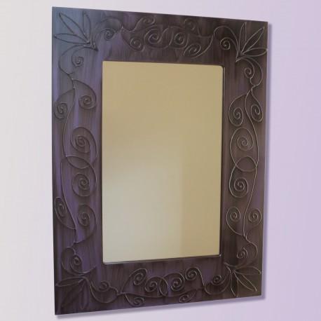 Espejo artesanal hecho a mano modelo NAMIB
