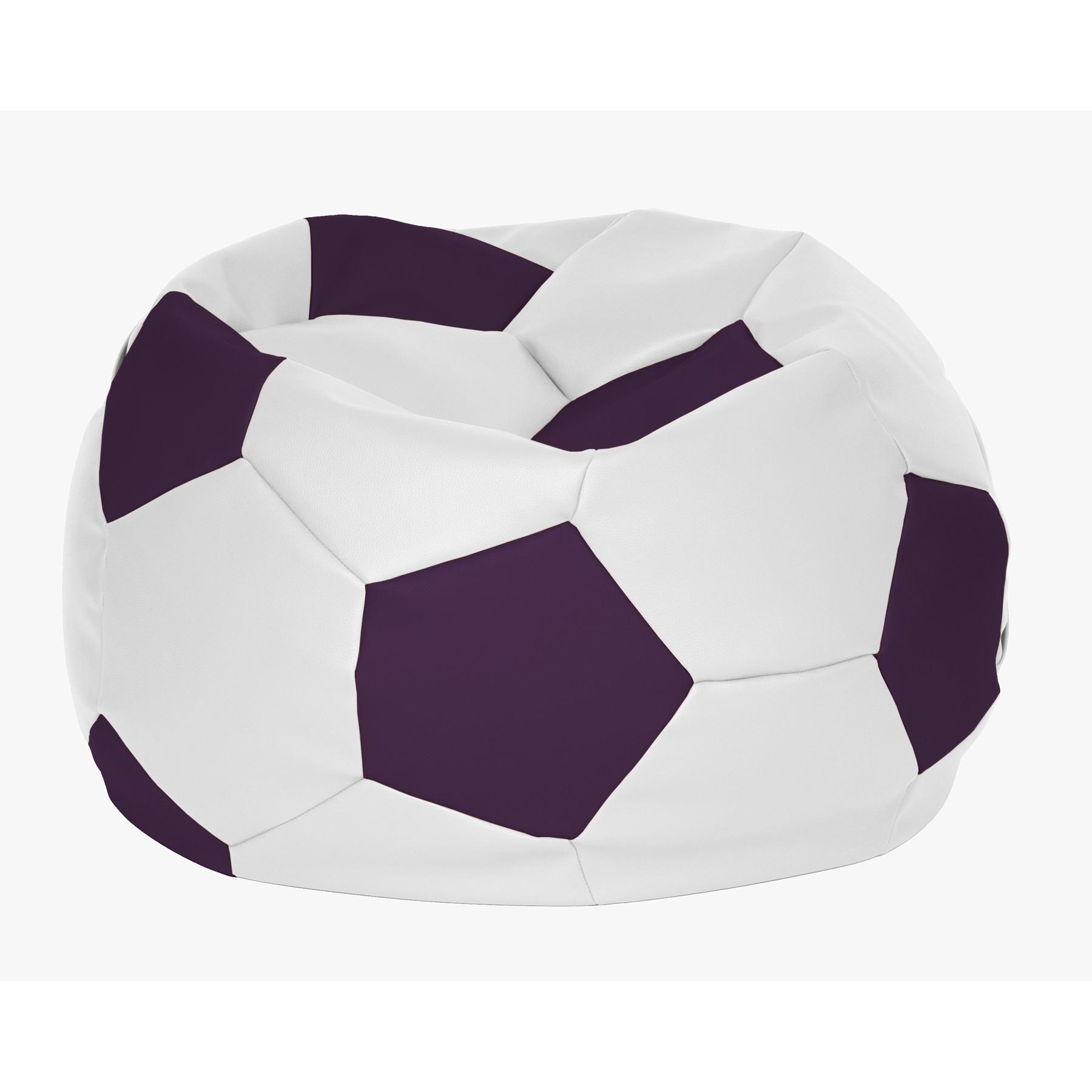 Puff de dise o original tipo pelota de futbol - Puffs de diseno ...