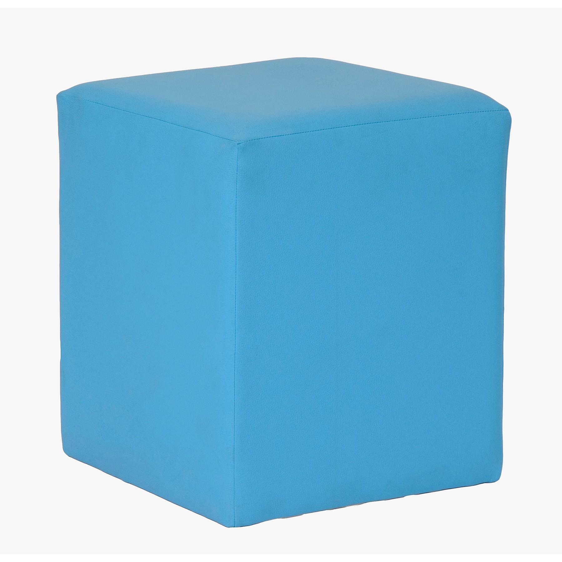 Puff tipo taburete cuadrado for Puff cuadrados