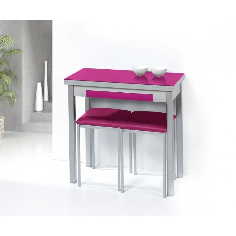 Conjunto de mesa sillas y taburetes de cocina calidad for Precios de mesas de cocina